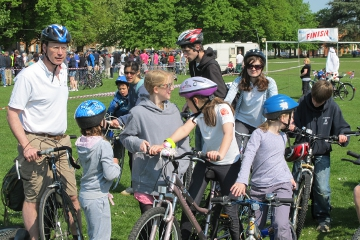 Faversham Charity Bike Ride 2012